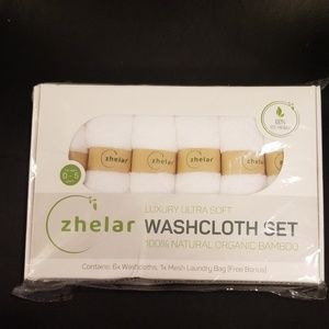 Laungry bag and 6 wash cloths